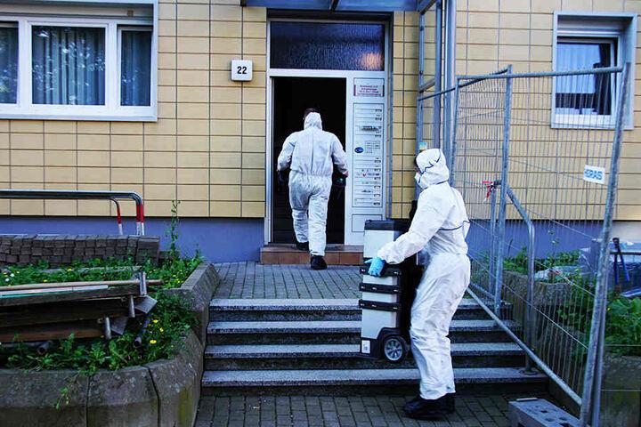 Die Tatortgruppe des Landeskriminalamtes war vor Ort.