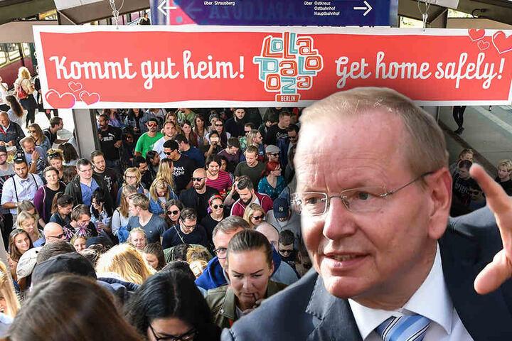 Heiß auf mehr Großveranstaltungen: Bürgermeister Karsten Knobbe (Linke), doch es muss einiges optimiert werden. (Bildmontage)