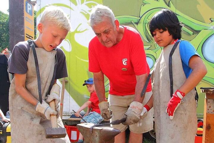 Jährlich wurde unter anderem das Kinderdorf Kitrazza in den Sommerferien organisiert.