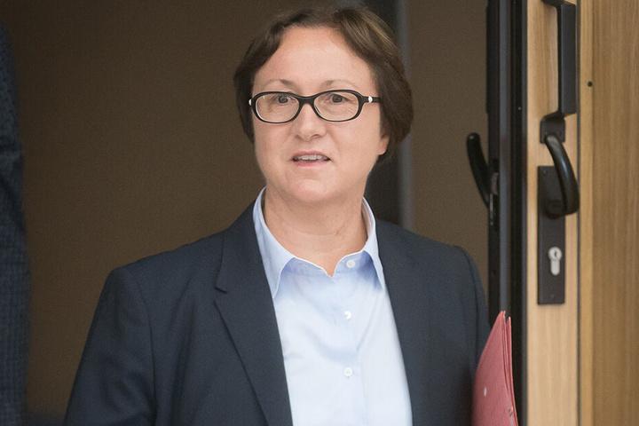Landeswahlleiterin Carolin Schreck (56).