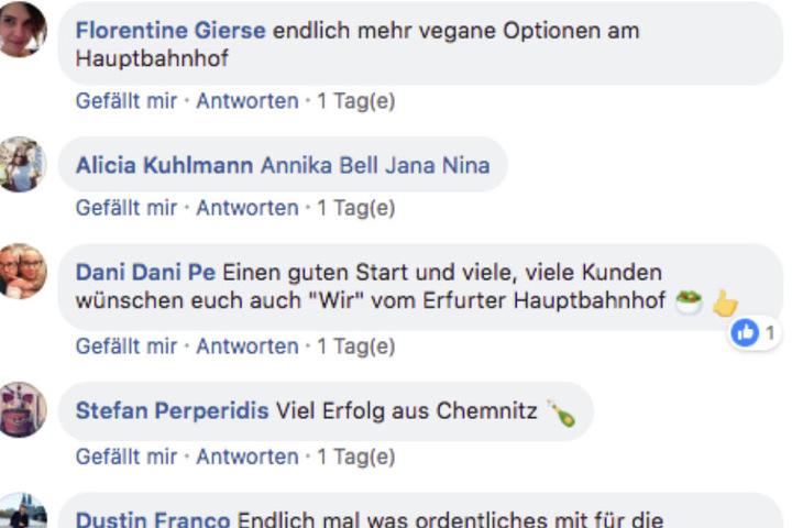 Die Pendler teilen ihre Begeisterung auf Facebook.