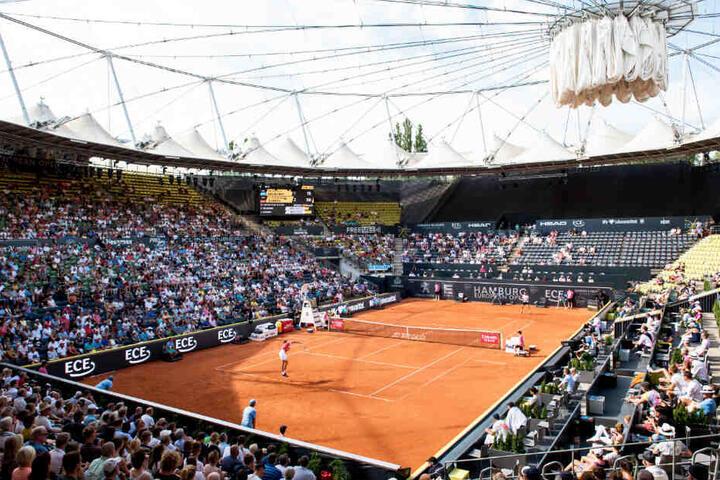 Zverev spielte im Stadion am Rothenbaum. (Archivbild)