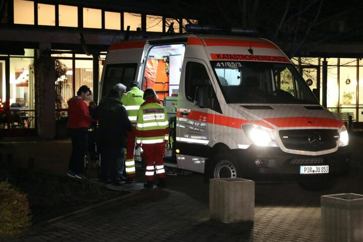 Ein Seniorenheim der Johanniter musste ebenfalls evakuiert werden.