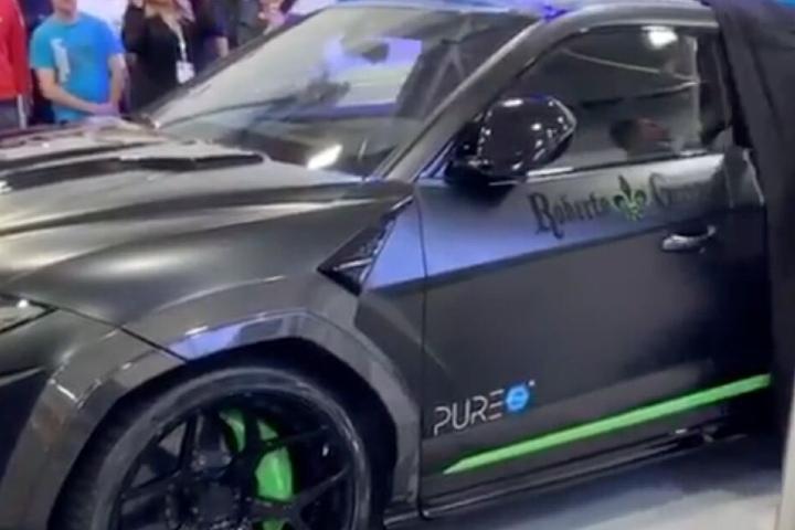 Der designte Lamborghini Urus in Geissini-Optik.