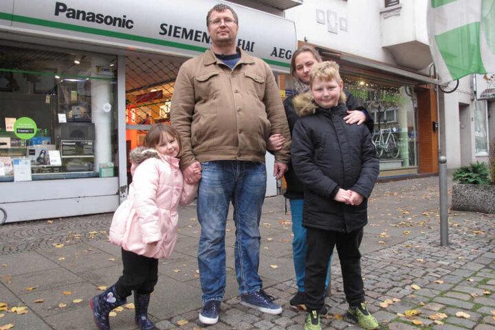 Familie Domke kämpft mit einem Leben an der Armutsgrenze.