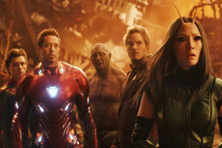 """""""Avengers: Infinity War"""" läuft aktuell und zog allein in Deutschland am ersten Wochenende über 1 Million Menschen ins Kino."""