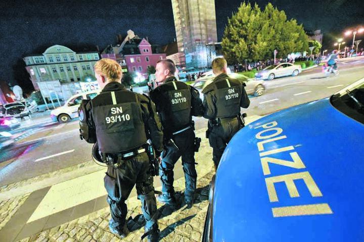 Am Kornmarkt in Bautzen gibt es immer wieder Auseinandersetzungen. Auch dies  ein Thema in dem umstrittenen Gespräch.