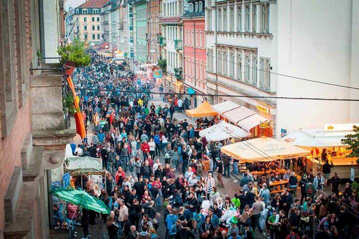 Am kommenden Wochenende steigt die Bunte Republik Neustadt.