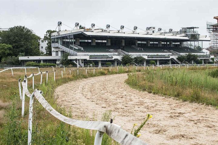Sportvereine dürfen sich am Samstag an der Tribüne der Galopprennbahn bedienen (Archivbild).