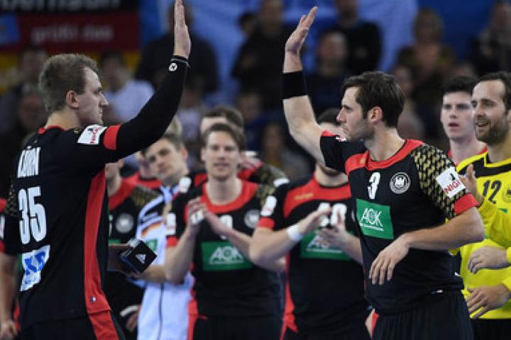 Im vierten Sieg landeten die Handballer den vierten Sieg.