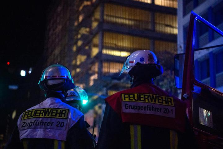 Die Feuerwehr übernahm vor Ort die Kontrolle.