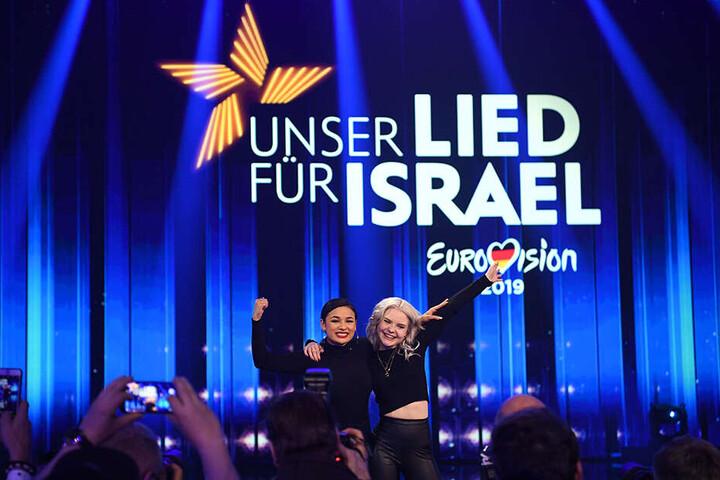 Carlotta Truman (re.) und Laurita Spinelli gehen als Duo S!sters für Deutschland an den Start: Das große ESC-Finale findet am 18. Mai in Tel Aviv statt.