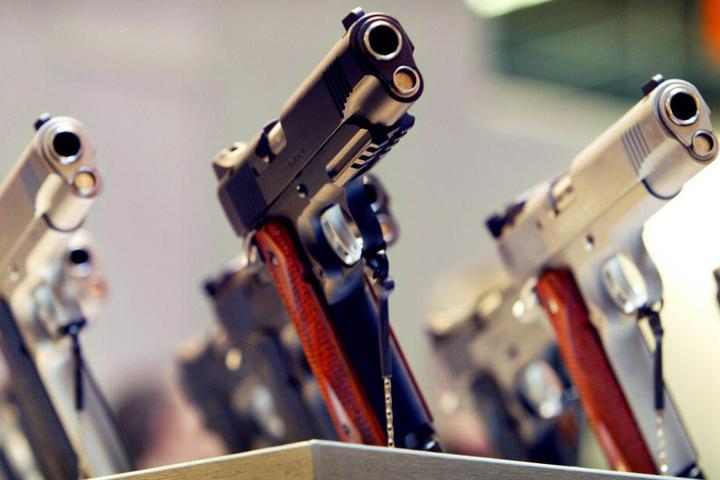 In Bayern wurden bis Ende letzten Jahres mehr als 1,2 Millionen legale Waffen und Waffenteile registriert.