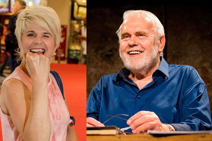 """Am 13. Oktober singt Linda Feller (51) Country-Pop auf Stolpen. Bereits am 6. April lädt Gunther Emmerlich (73) zur musikalischen Lesung """"Spätlese""""."""