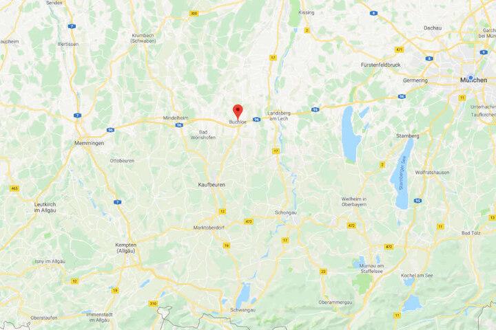 Der Vorfall ereignete sich in der Nähe von Buchloe im Ostallgäu.