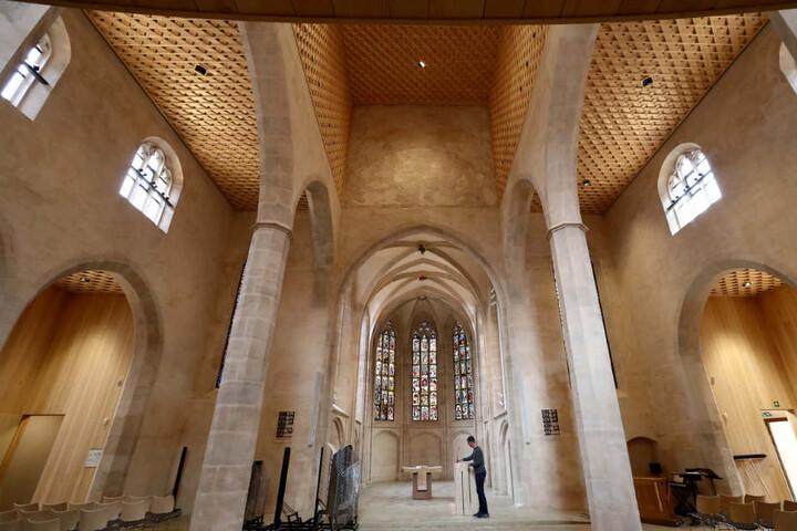 Rekonstruktion und Renovierung der Kirche kosteten rund zwölf Millionen Euro.