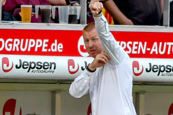 Hinten stand die Null. Vorn traf Dynamo doppelt. Maik Walpurgis dirigierte die Schwarz-Gelben zum Sieg.