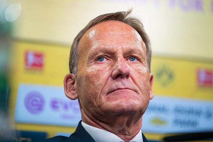 Hans-Joachim Watzke ist entschlossen. Er will den BVB-Anhängern endlich wieder die Meisterschale am Dortmunder Borsigplatz präsentieren.