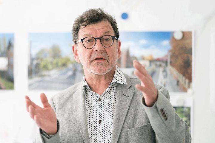 Koordinierte viele Jahre als Chef des Straßen- und Tiefbauamtes der Stadt die Arbeit der Unfallkommission: Reinhard Koettnitz (64).