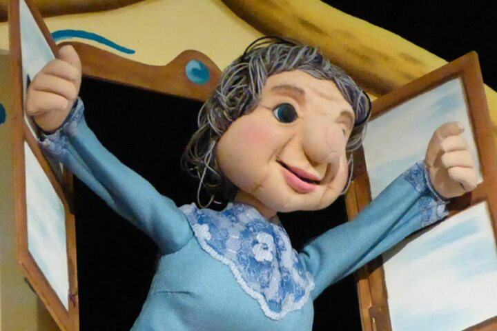 Das Puppentheater ist etwas für Kinder und ihre Familien.
