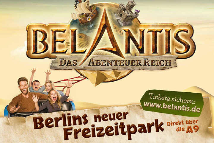 Mit dieser Kampagne will der Belantis-Park mehr Gäste aus Berlin und Brandenburg in den Süden locken.