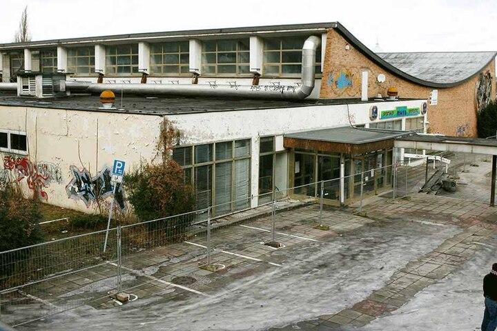 Der Hallennachbau in Potsdam wird abgerissen.
