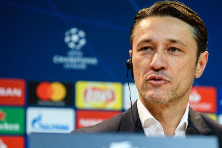 Trotz der enormen Drucksituation beim FC Bayern München gab sich Niko Kovac auf der PK gelassen.