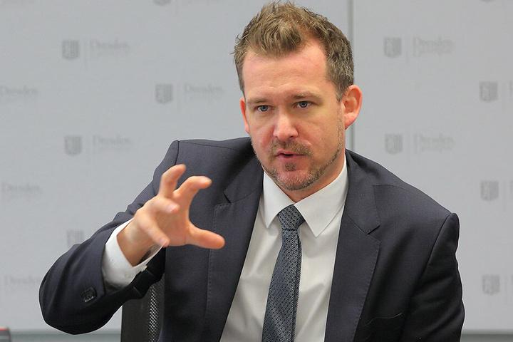 Baubürgermeister Raoul Schmidt-Lamontain (42, Grüne)