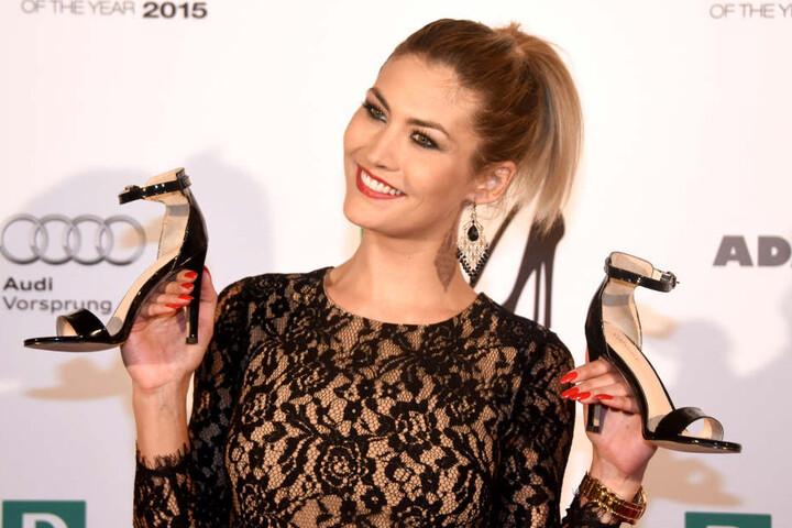 """Die 28-Jährige wurde durch ihre Teilnahme bei """"Germany's Next Topmodel"""" 2007 bekannt,."""