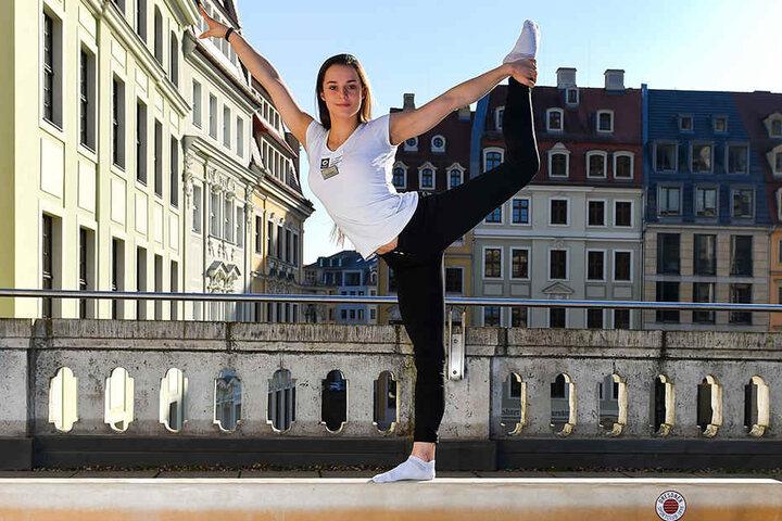Am 11. November gastiert die Turnbundesliga in Dresden, dann ist auch Pauline Schäfer am Start.