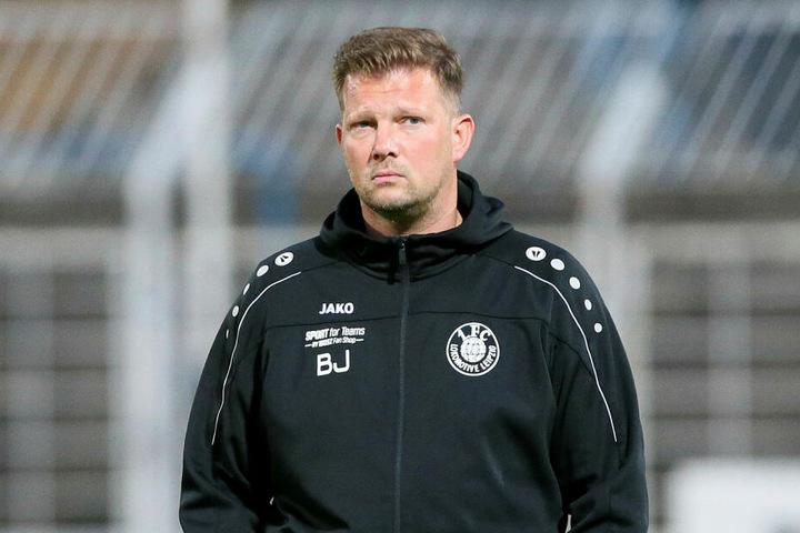 Björn Joppe (40) legte das Amt des Teammanagers von Lok Leipzig am Samstag - mehr oder weniger freiwillig - nieder.