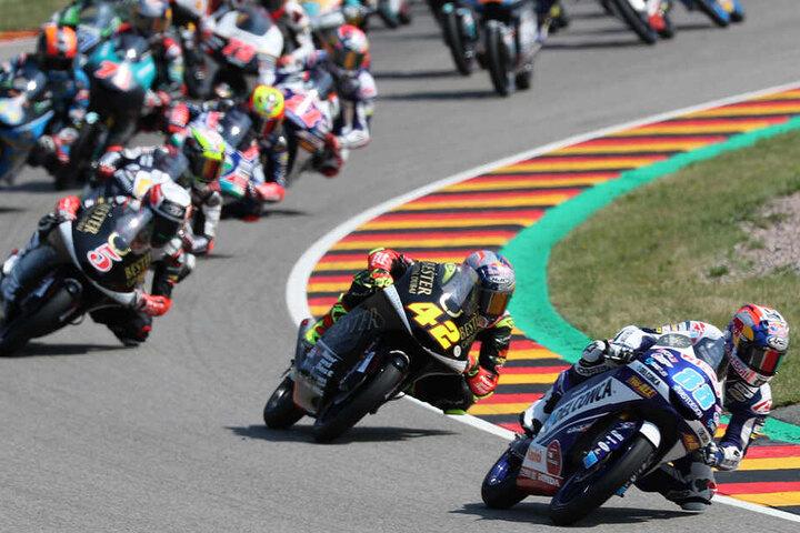 Am Wochenende macht die Motorrad-WM auf dem Sachsenring Station.
