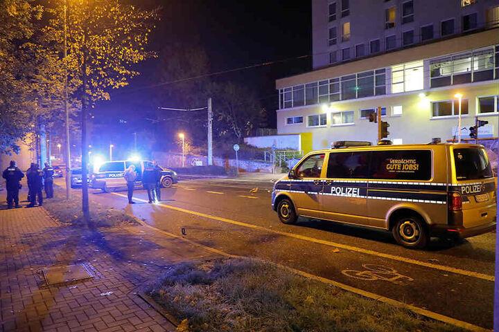 Die Körperverletzung passierte in der Stollberger Straße in Chemnitz.
