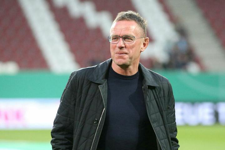 Stand mit dem FC Schalke 04 schon zweimal im Pokalfinale: RB-Trainer Ralf Rangnick (60).