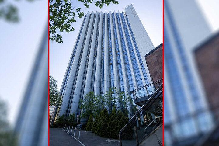 Das Dorint-Hotel an der Theaterstraße ist das höchste Haus von Chemnitz - und hat selbst wieder gute Aussichten.
