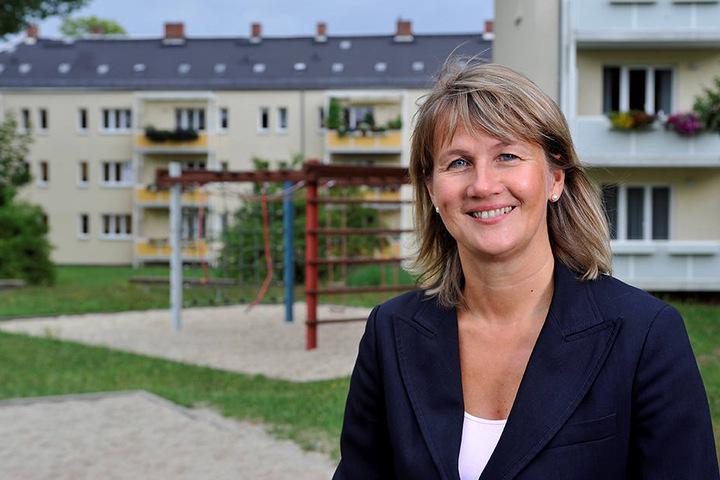 GGG-Chefin Simone Kalew (53) lässt die 25.000 Wohnungen des Unternehmens mit  Rauchwarnmeldern ausstatten.