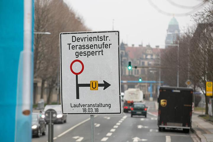 Autofahrer müssen am Sonntag wieder stark sein: Die halbe City ist wegen des Citylaufs gesperrt.