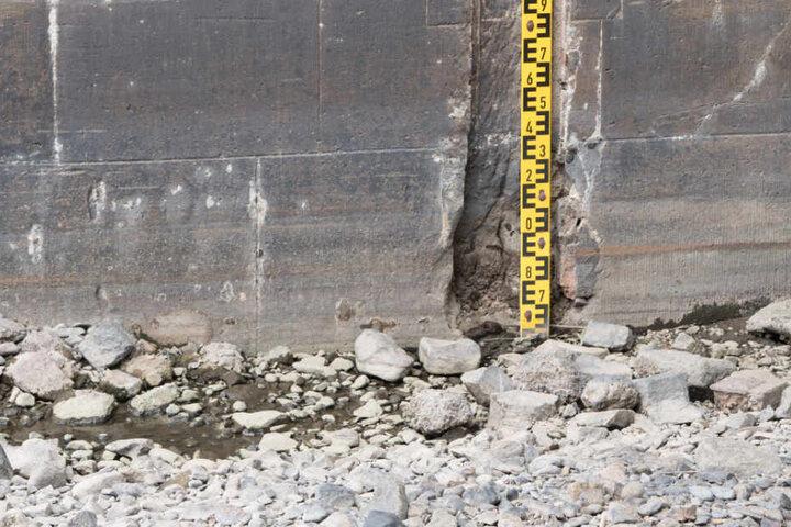 In vielen Flüssen und Seen ist der Pegel stark gesunken. (Symbolbild)