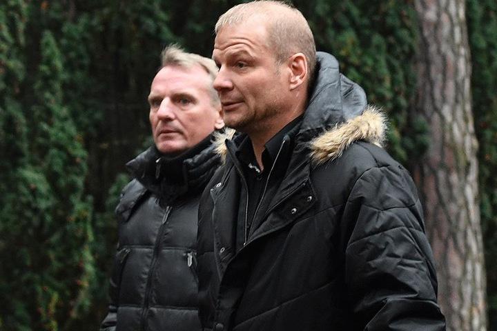 Frank Lieberam (li.) und Jan Seifert