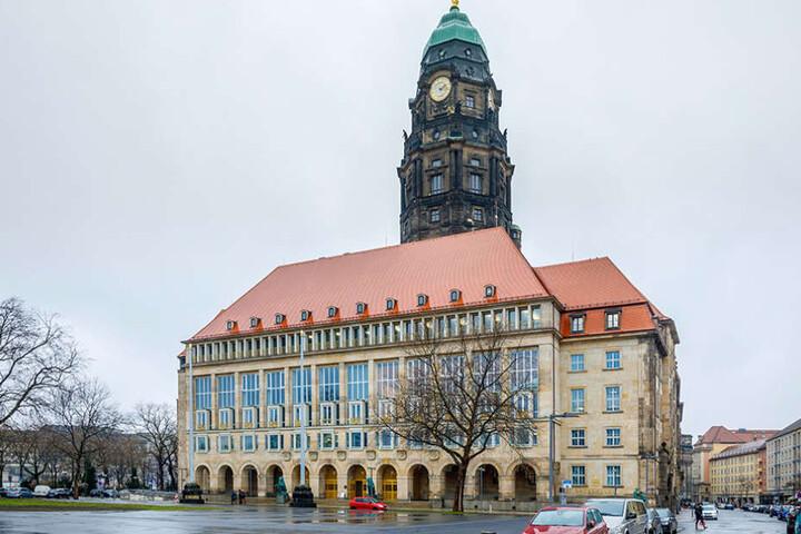 Achtung, Langfinger! Auch im Dresdner Rathaus wird geklaut.