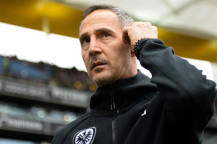 """Seine Jungs sind """"bissig und fokussiert"""": Adi Hütter."""