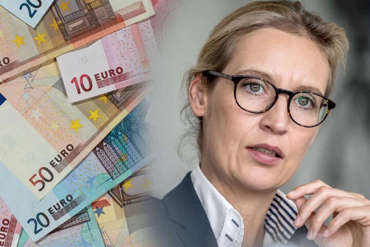 Wird Alice Weidel (39) die Zahlung nun zum Verhängnis? (Bildmontage)