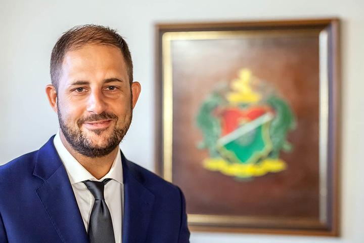 Stadt-Chef Jesko Vogel (42, Freie Wähler) kennt den Wunsch nach eigenen Kennzeichen.