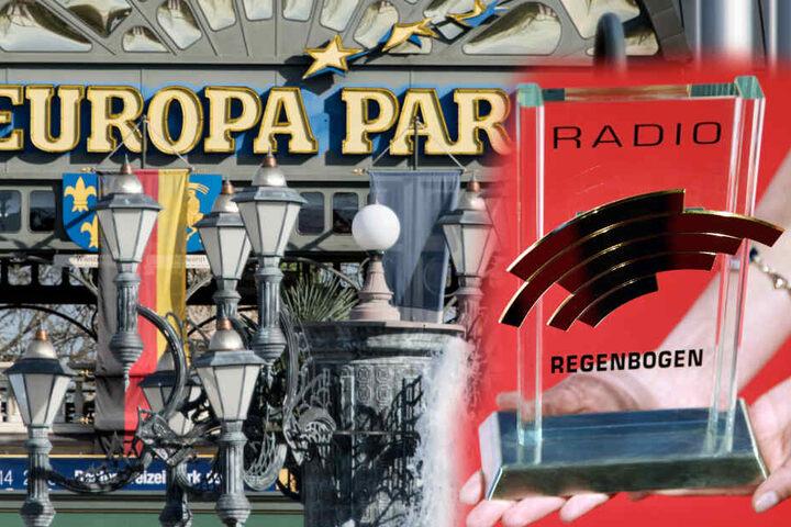Die Radio Regenbogen Awards werden am Freitagabend im Europa-Park Rust bei Freiburg verliehen. (Fotomontage)
