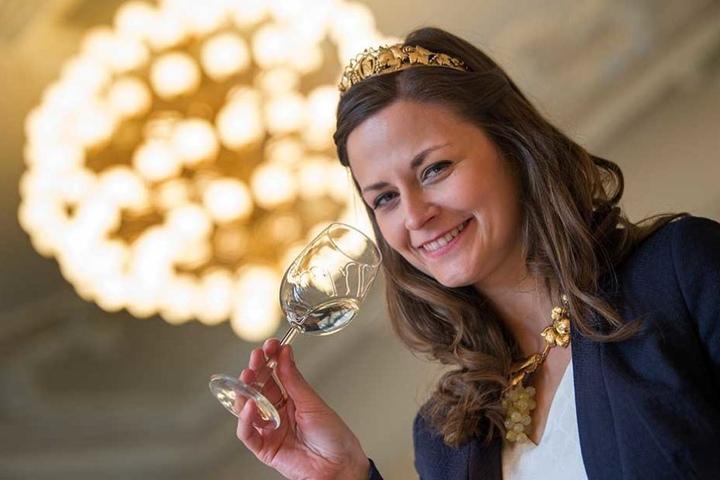 Während ihrer Regentschaft 2016/17 litt Friederike Wachtel (28) unter dem Zoff mit dem Weinbauverbands-Chef.