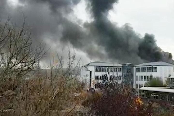 Ein Feuer war im größten deutschen Werk des Automobilzulieferers Bosch in Bamberg ausgebrochen.