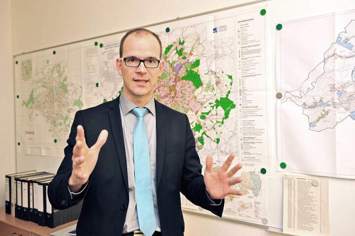 CEW-Chef Sören Uhle (41) ist guter Hoffnung.