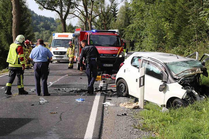 Eine Person starb bei dem tragischen Unfall.
