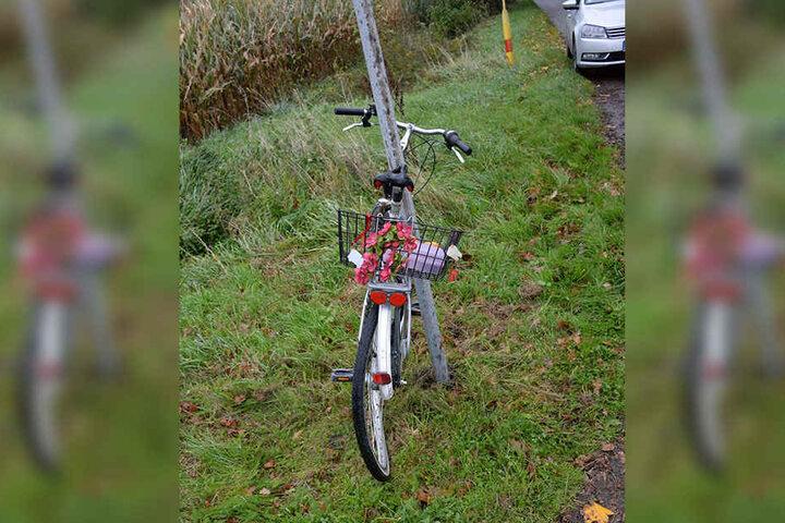 Auf diesem Fahrrad war der 47-jährige Mann unterwegs.