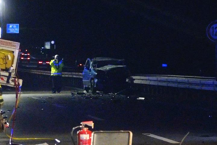 Zwei Tote und mehrere Verletzte bei Unfall mit Geisterfahrer